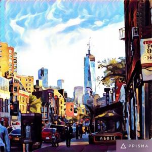 newyork prisma artwork paint music jazz