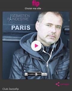 on air  radio FIP ! album paris is albumhellip