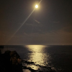 moonlight in france gironde photographer nature tourism music sea moon