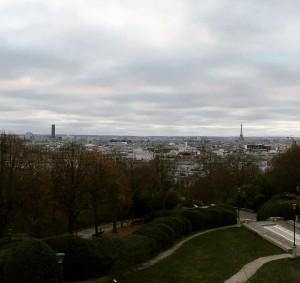 The place most highest in Paris belleville paris france viewhellip