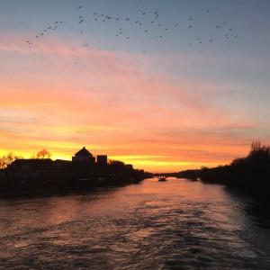 La loire river france tourism loiret tours sunset photographer birdshellip