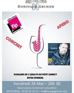 Tonight  Tonnerre wine jazz bourgogne france gastronomie vigneron musichellip