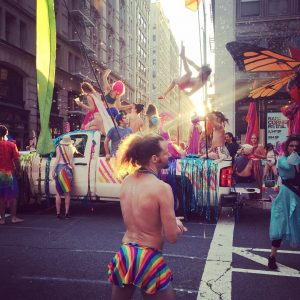Gay pride 2017 in Newyork gaypride newyork ny music jazzhellip
