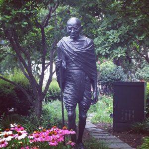 Statue of Gandi  union square park gandi statue bronzehellip