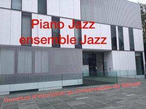 Je suis le nouveau prof de piano Jazz et densemblehellip