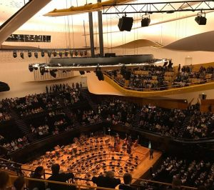 Schumann Ravel Varse paris music classical philarmonie france hall auditorium