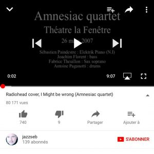 80000 hits ! radiohead jazz cover youtube hit rhodes drumshellip