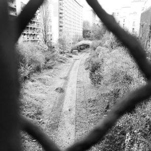 la petite ceinture old train line in paris france trainlinehellip