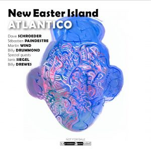 Cover art of next album release by Atlantico ! jazzhellip