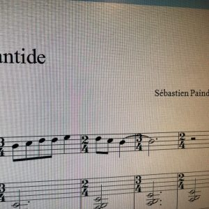 Book compositions for saxophone and piano for Billaudot work inhellip