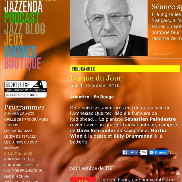 TSF Jazz disque du jour Atlantico, Paindestre, Schroeder