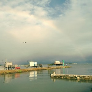 rainbow bird sea harbour clouds france tourism photograper beauty skyhellip