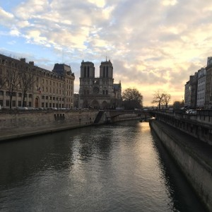 Close to my job this morning 0 paris morning notredamedeparishellip