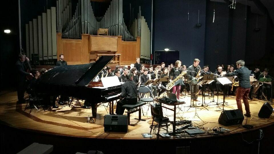 concert les folles journées du saxophone avec Sébastien Paindestre, Nicolas Prost, Cécile Bonacina , et Baptiste Herbin